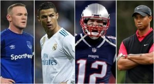 4 famous world successfully athletes.